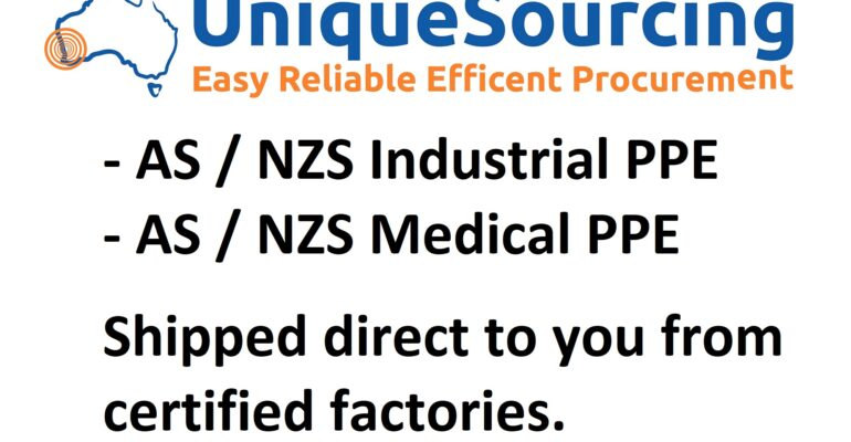 UniqueSourcing - AS NZS Industrial PPE & Medical PPE - Unique Sourcing Pty Ltd